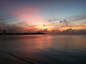 good bye to Guam
