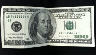 One Hundred Dollar Bill - everyone's favorite green