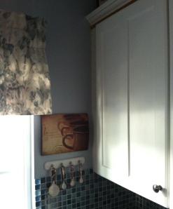 white kitchen cupboard