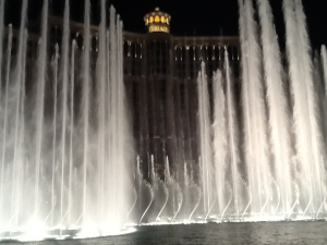 Water show at the Bellagio