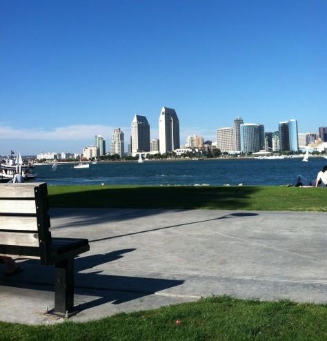 Beautiful San Diego from Coronado