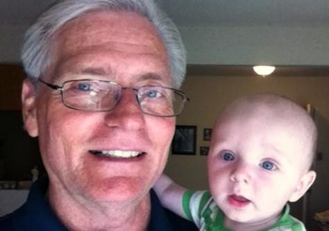 Grandpa & Rick's eyes