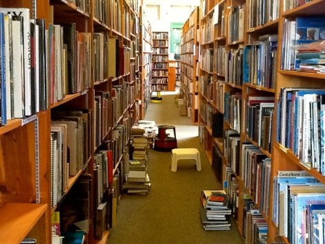 Bookstore in Monterey, CA by, B.Stout