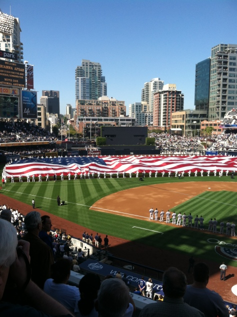 Petco Park, Opening Day