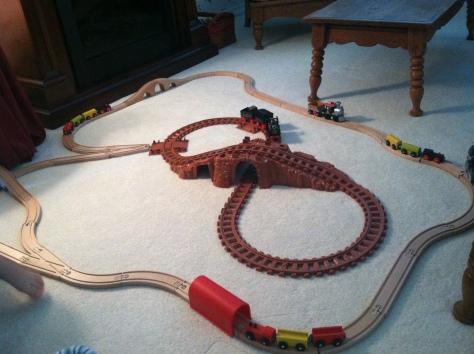 train track - landscape
