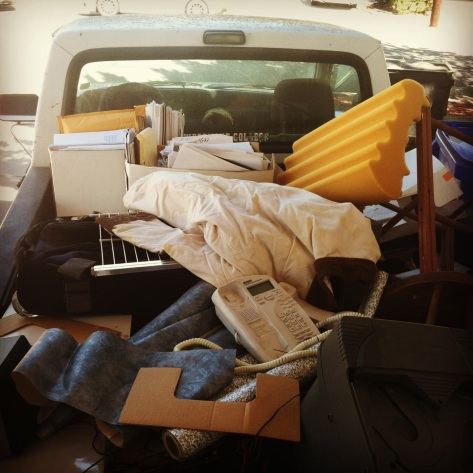 truck full of stuff