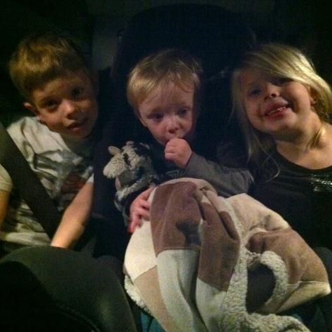 all 3 grandkids
