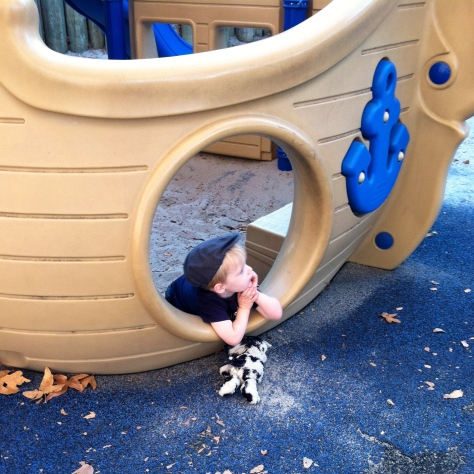 R at the park