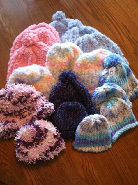 17 hats