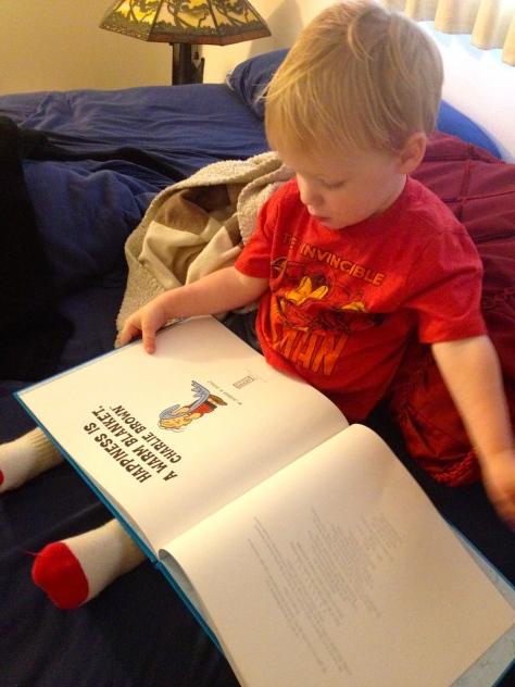 photo credit: my daughter, book from Grandma