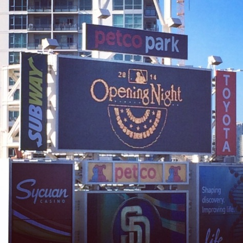 Opening Night - Padres Baseball