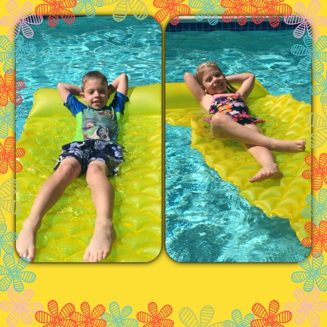 A & A at the pool