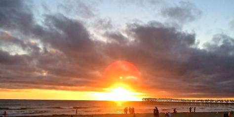 Sunset at PB