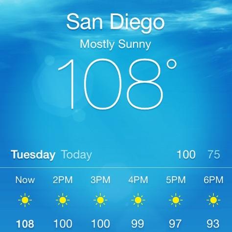 San Diego - HOT!