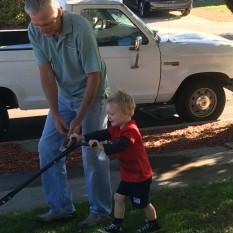R and Grandpa