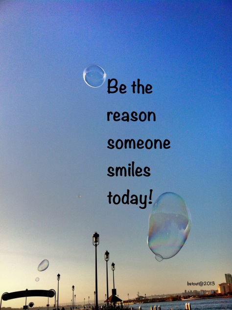 Be the reason!