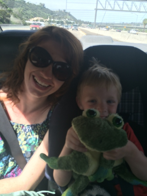 A and R and the frog